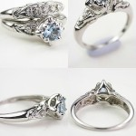 Beautiful Antique Style Engagement Rings Design