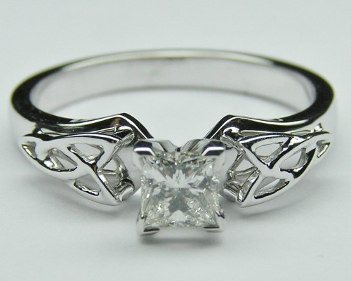 Beautiful Celtic Engagement Rings Silver