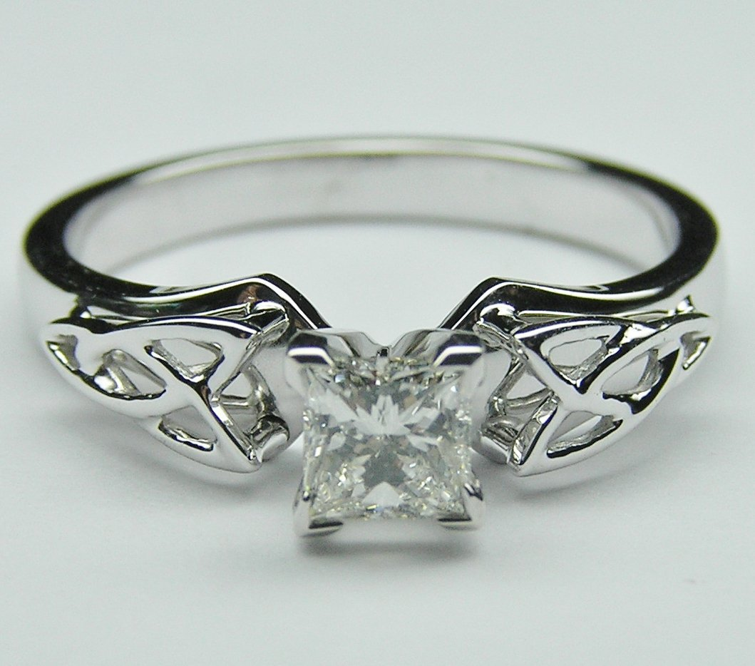 Celtic Engagement Rings Design: beautiful celtic engagement rings silver
