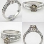 collection antique style engagement rings model