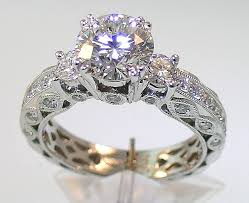 Antique Style Engagement Rings UK: pearl antique style engagement rings models