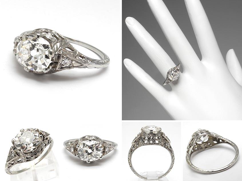 antique style engagement rings uk pinterest antique style engagement rings models - Antique Style Wedding Rings