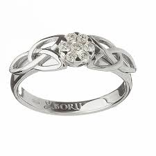 Celtic Engagement Rings Design: prety celtic engagement rings silver