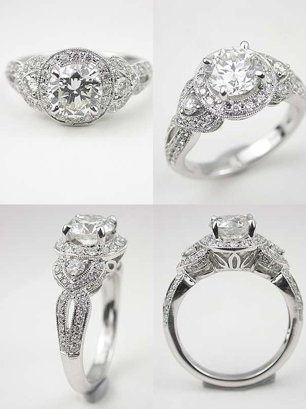 antique style engagement rings uk silver antique style engagement rings good - Vintage Style Wedding Rings