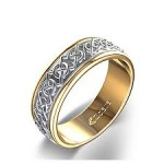 simple celtic engagement rings gold