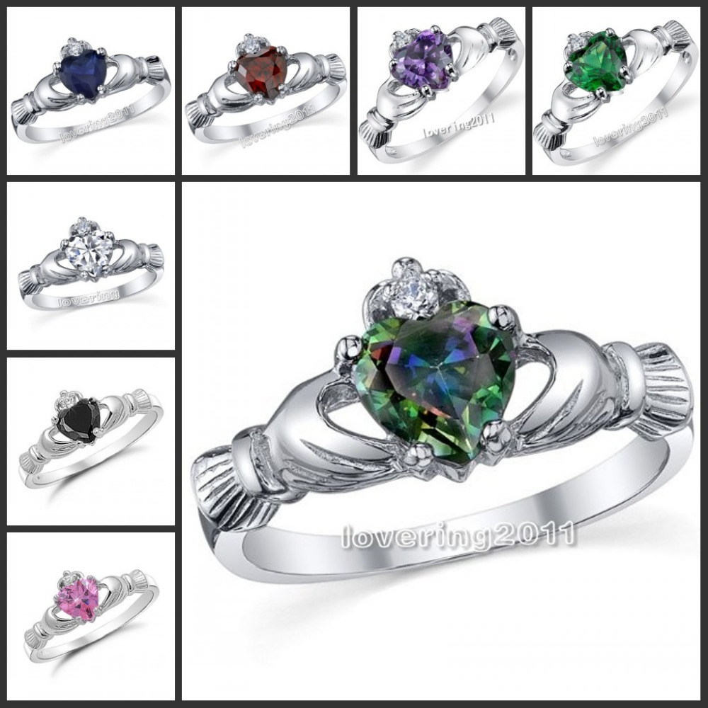 Claddagh Engagement Ring Meaning: topas calddagh engagement ring perfect