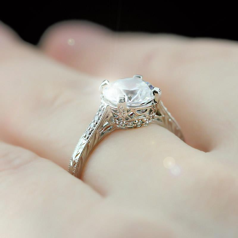 Antique Style Engagement Rings UK: vintage antique style engagement rings for wedding