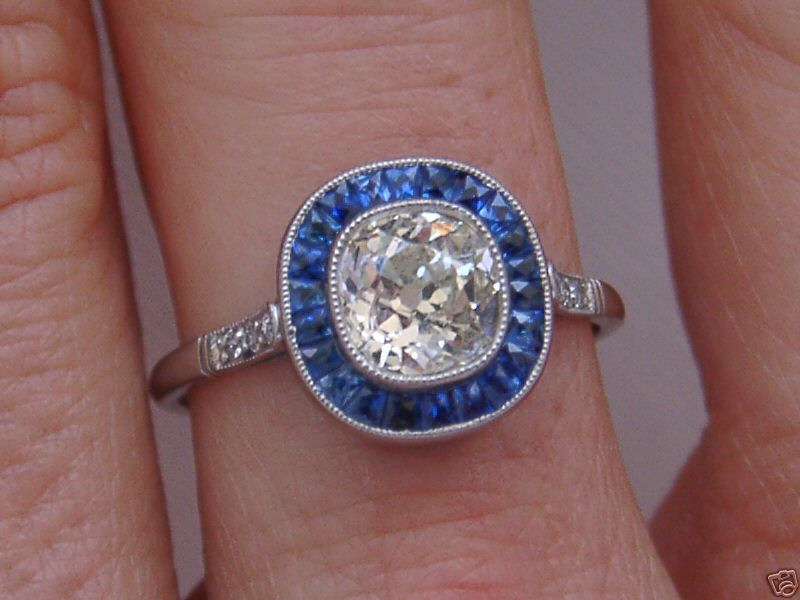 Antique Ebay Engagement Rings Saphire