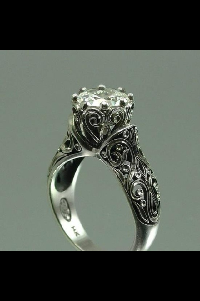 Antique Irish Engagement Rings Design