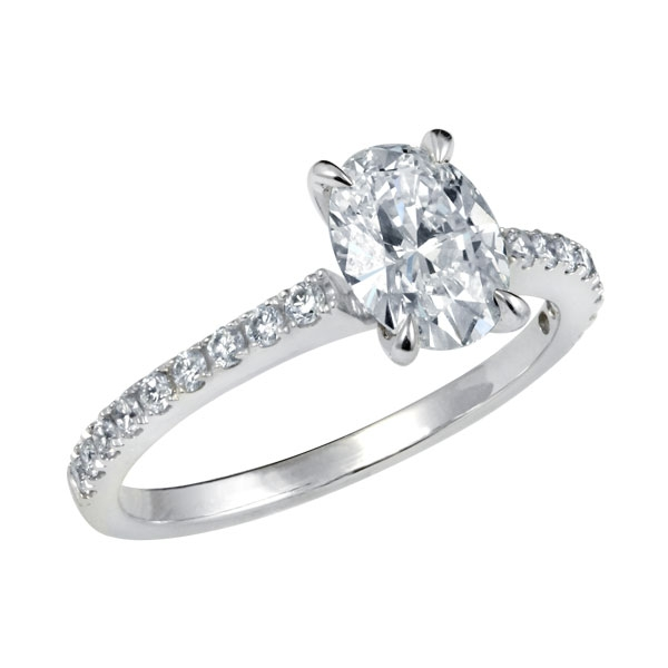 Oval Cut  Engagement Rings for Sale: antique oval cut engagement rings style