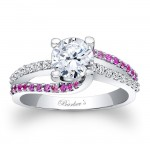 antique pink sapphire engagement ring second