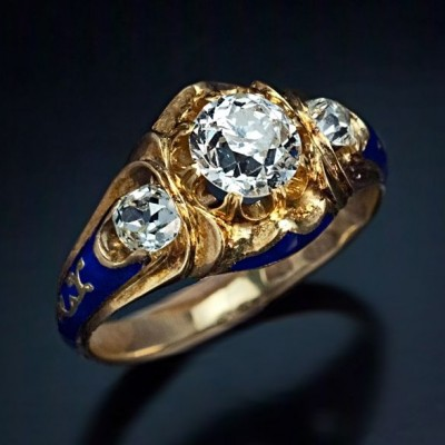 Antique Victorian Engagement Rings Era