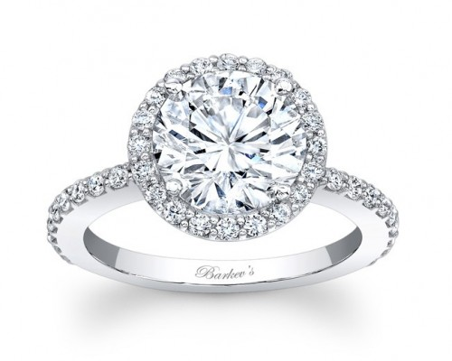 Barkev Halo Engagement Ring Design