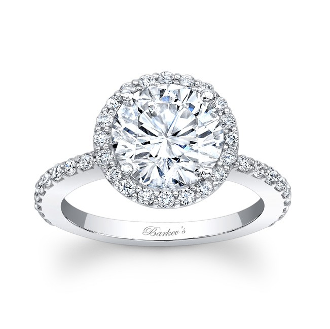 Halo Engagement Ring Zales: barkev halo engagement ring design
