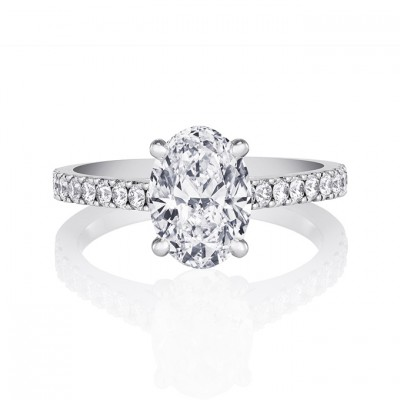 Beatiful Oval Cut Engagement Rings Design