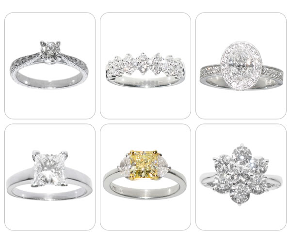 Beautiful Canary Diamond Engagement Rings Design