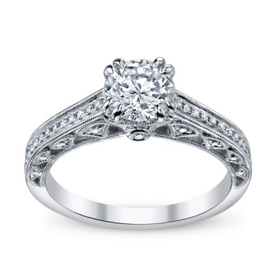 Beautiful Filigree Engagement Rings Design