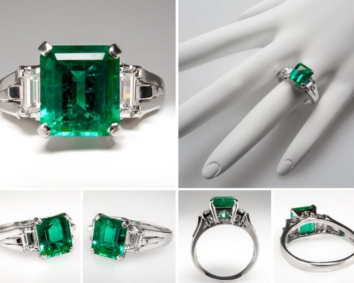 Best Emerald Engagement Ring Style
