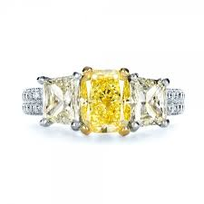 Big Canary Diamond Engagement Rings Design