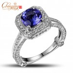 big tanzanite engagement rings pict