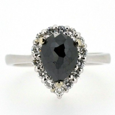 Black Ebay Engagement Rings Diamond