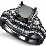 black zales engagement rings diamond