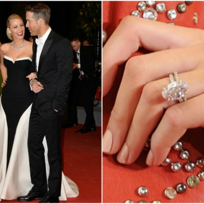 Bling Ashlee Simpson Engagement Ring Rings