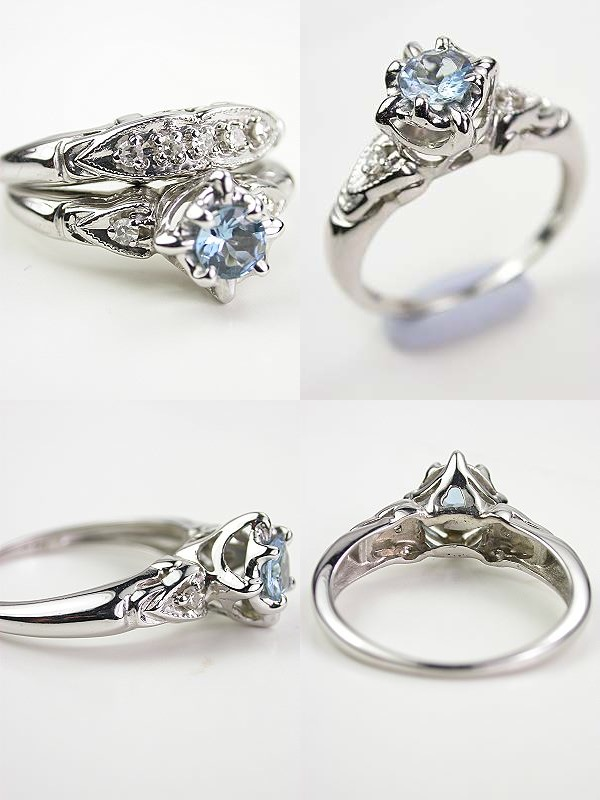 Filigree Engagement Rings Antique: blue filigree engagement rings eyes