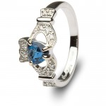 calddagh irish engagement rings ladies