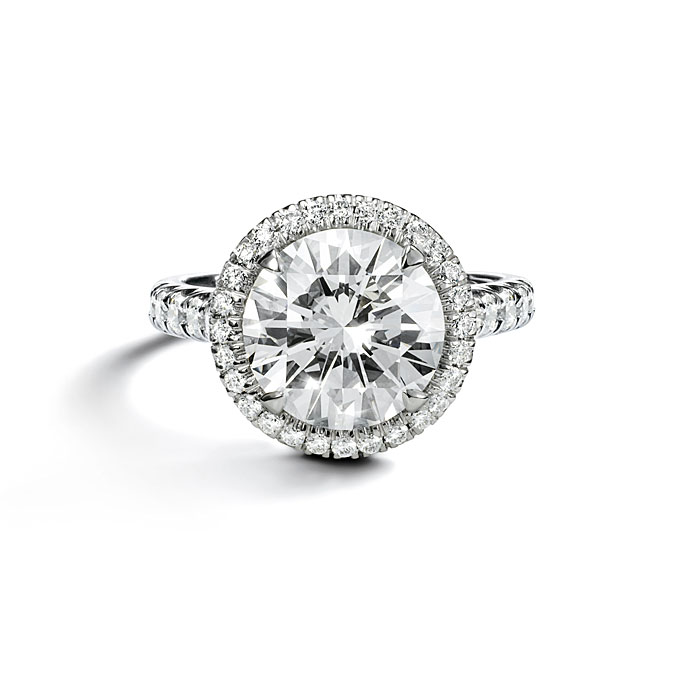 Pave Engagement Rings Meaning: cartier pave engagement rings pearl