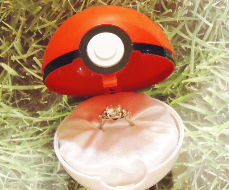Pokemon Engagement Ring Box: choice pokemon engagement ring box