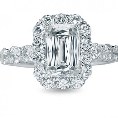 Christopher Emerald Cut Engagement Ring Designs