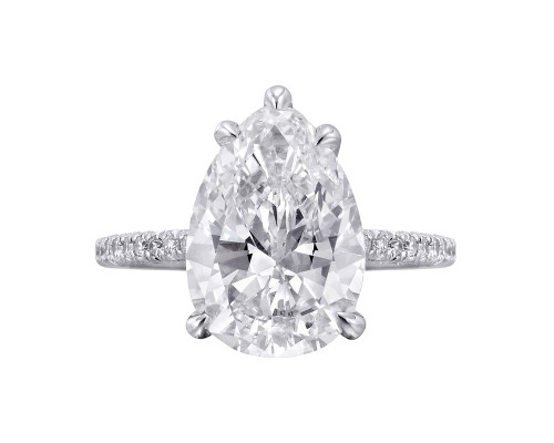Classic Pear Engagement Rings Style