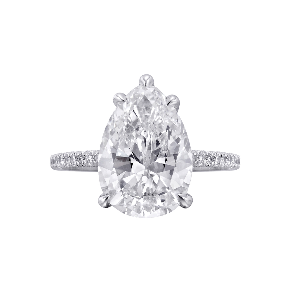 Pear Engagement Rings Canada: classic pear engagement rings style
