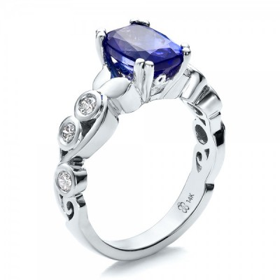 Custom Tanzanite Engagement Rings Design