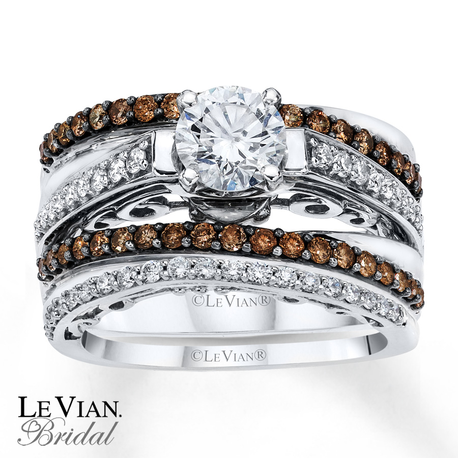 Permalink to Chocolate Diamond Wedding Ring Sets