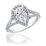diamond pear engagement rings good