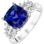 diamond tanzanite engagement rings international