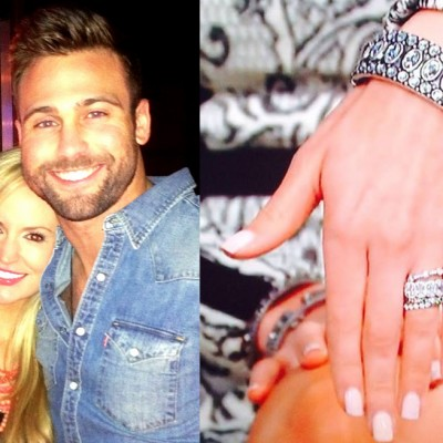 Ashlee Simpson Engagement Ring Replica