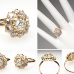 era victorian engagement rings gold