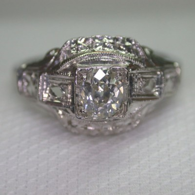 Estate Ebay Engagement Rings Platinum