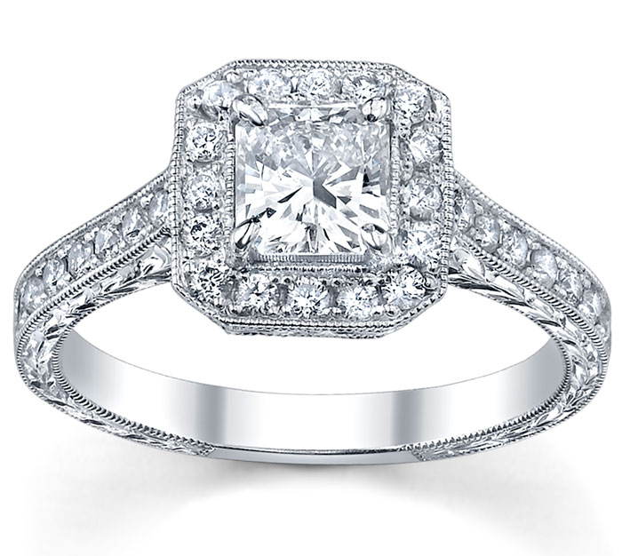 Types of Engagement Rings Settings: fine types of engagement rings jewelery