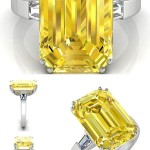 george canary diamond engagement rings style
