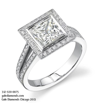 Glamor Engagement Rings Chicago Design