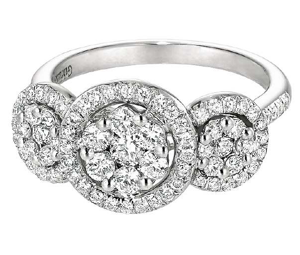 Types of Engagement Rings Settings: glamor types of engagement rings effect
