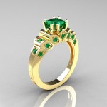gold-emerald-engagement-ring-produce