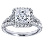 good engagement rings princess cut style