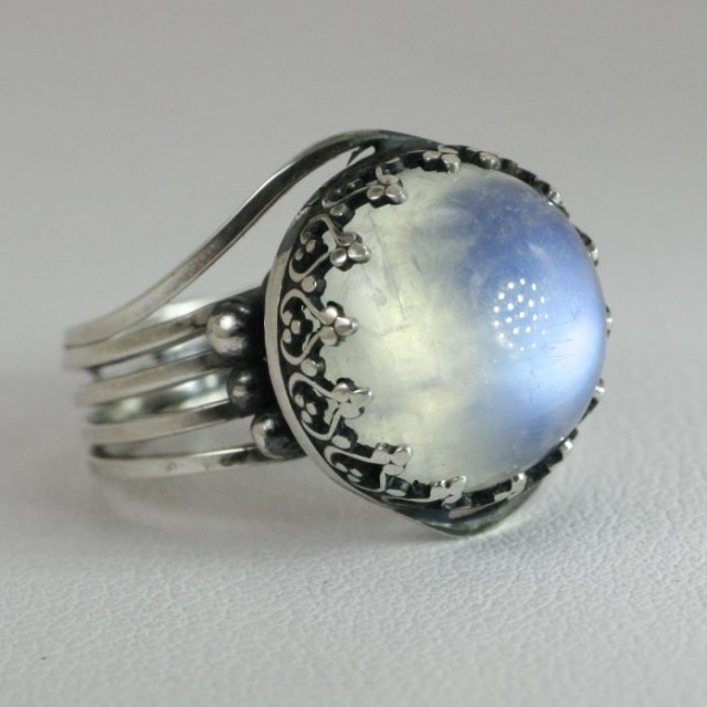 Moonstone Engagement Rings Etsy: good moonstone engagement rings perfect
