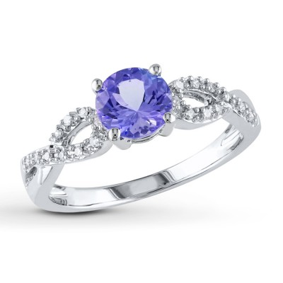 Good Tanzanite Engagement Rings Style