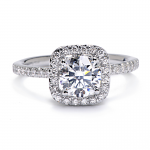 greenwhich halo diamond engagement ring design